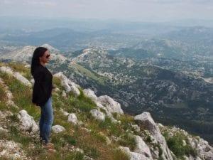 Lovcen National Park in Montenegro