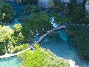 Plitviče Lakes National Park in Croatia