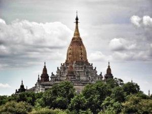 A Pagoda in Bagan, Myanmar