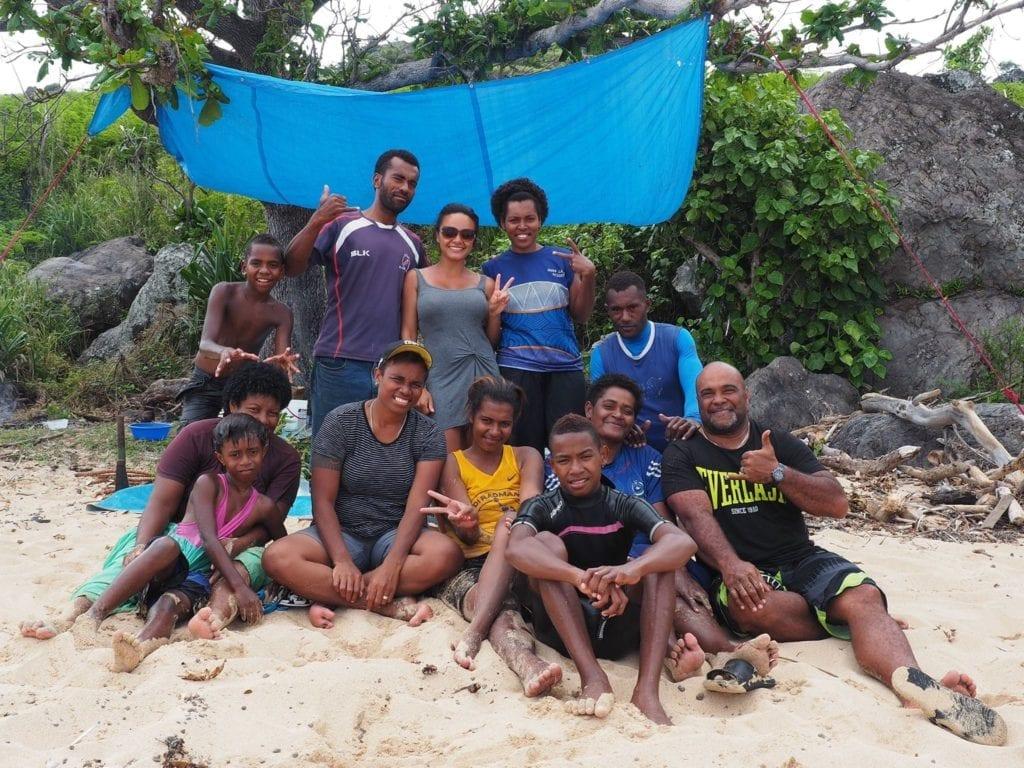My Fijian family in Wayalailai