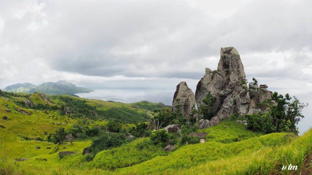 The trail to Vatuvula on the island of Wayalailai