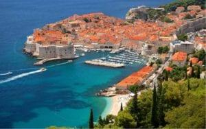 Panorama view of Dubrovnik, Croatia