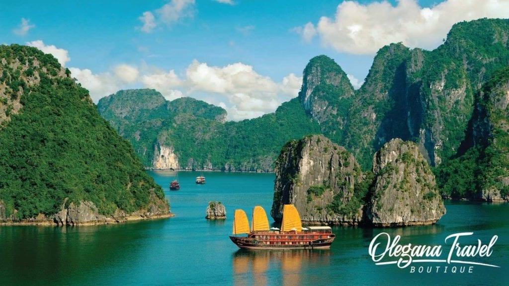 Halong Bay in Vietnam