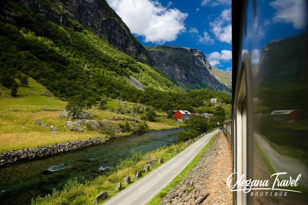 Train Flam toMyrdal