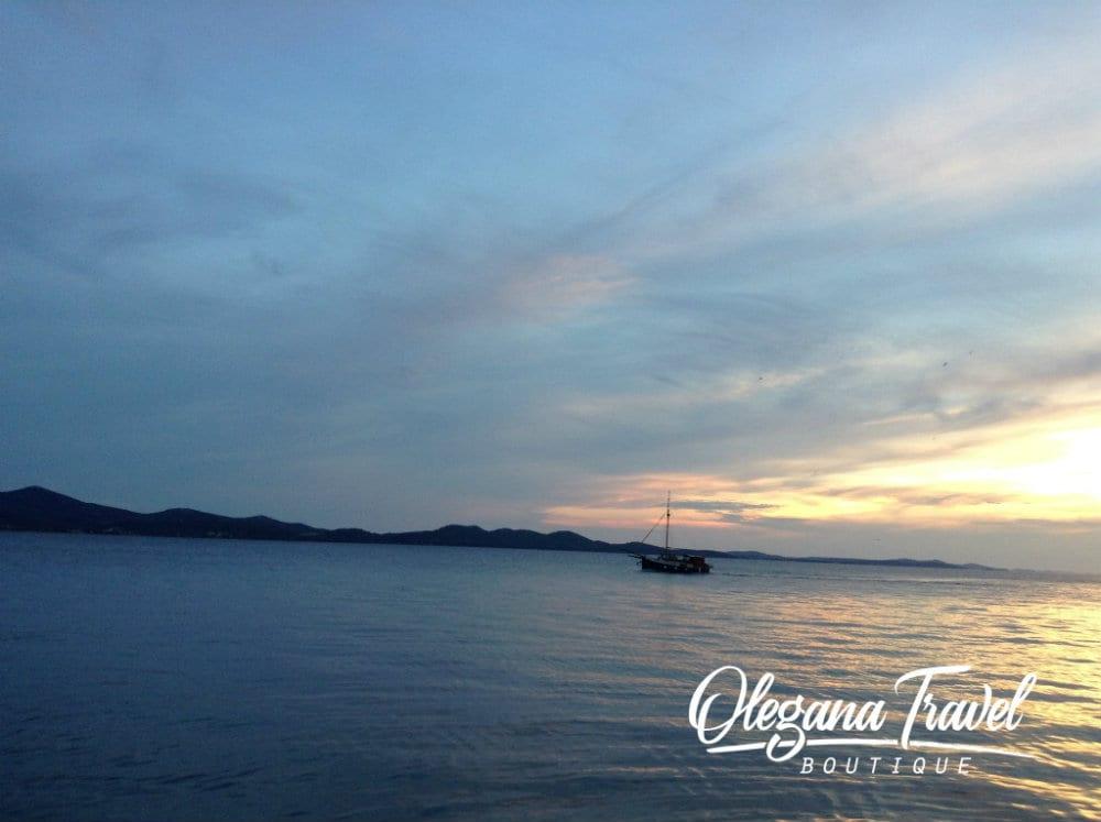 Famous Zadar Sunset