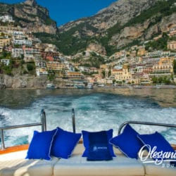 Take a relaxing boat ride on the Amalfi Coast