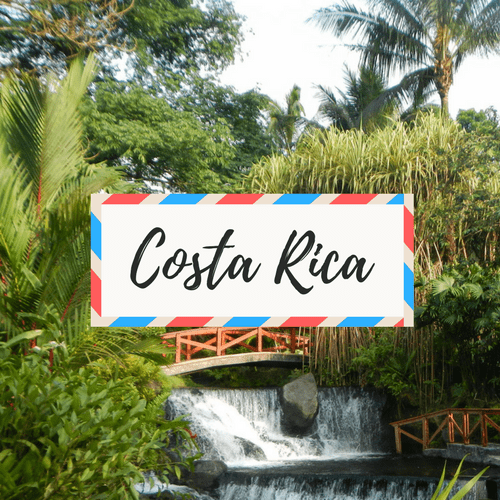 "image of Costa Rica - with large text in the middle that says ""Costa Rica"""