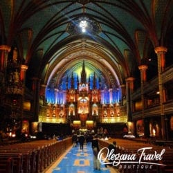 Notre-Dame Basilica of Montreal, Canada