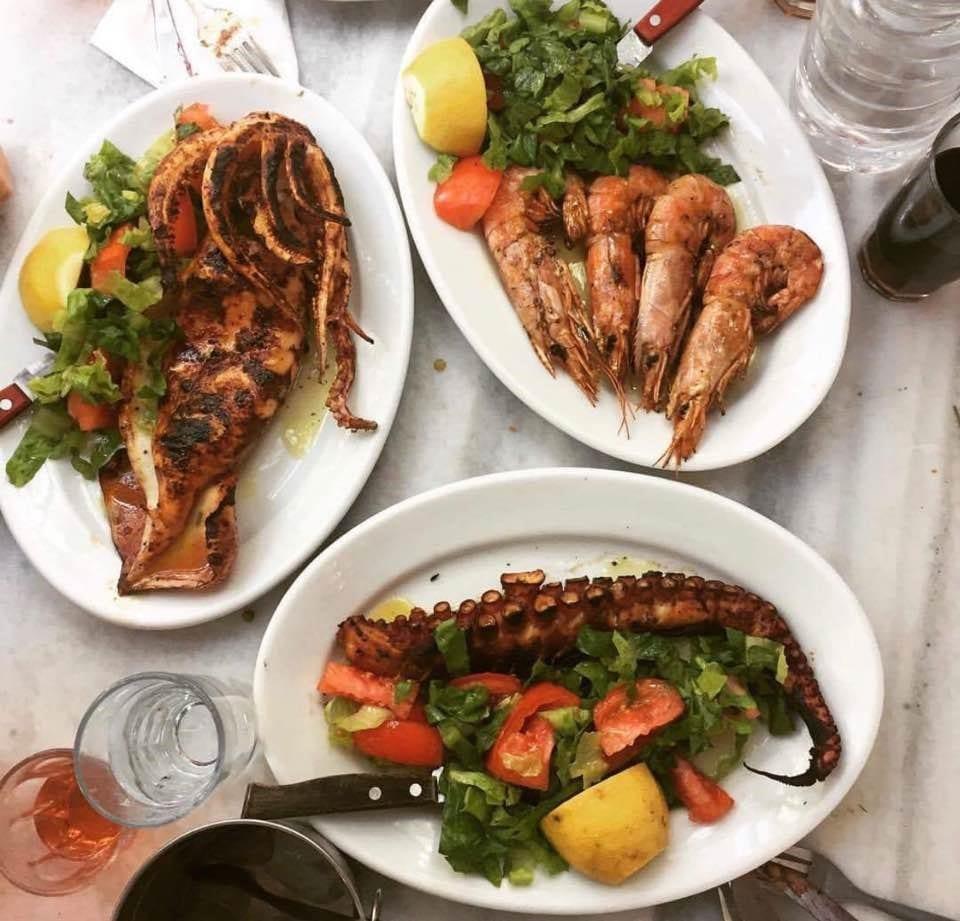 Grilled seafood aplenty