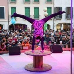The MESTRE CARNIVAL STREET SHOW - Venice Carnival