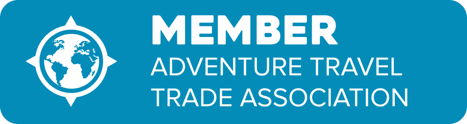 Logo indicating membership in Adventure Travel Trade Association