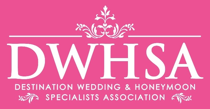 Logo indicating specialty in wedding and Honeymoons