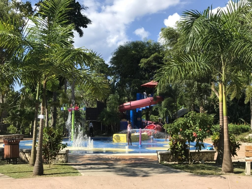 Kids Splash Park at Dunns River Falls