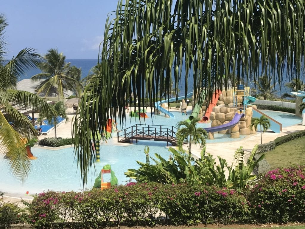 Waterpark at Grand Palladium Jamaica and Lady Hamilton