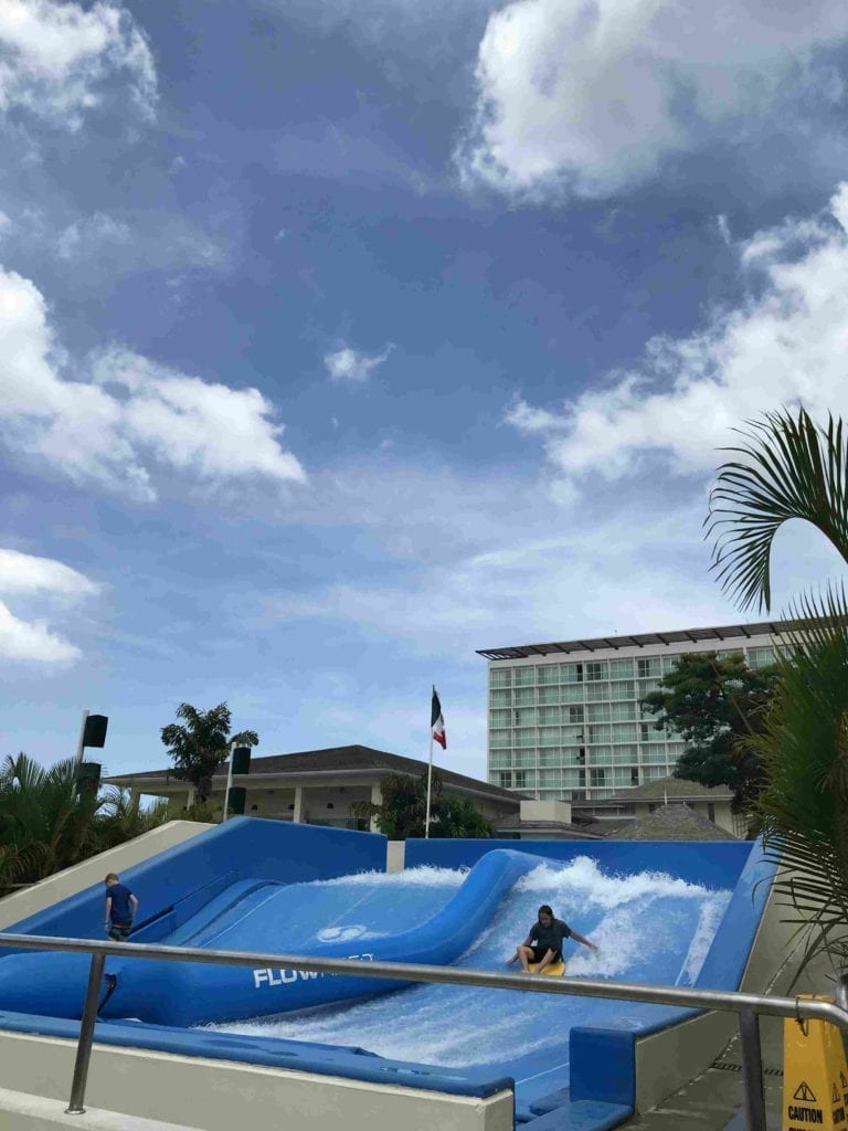 Flowrider at Moon Palace Jamaica