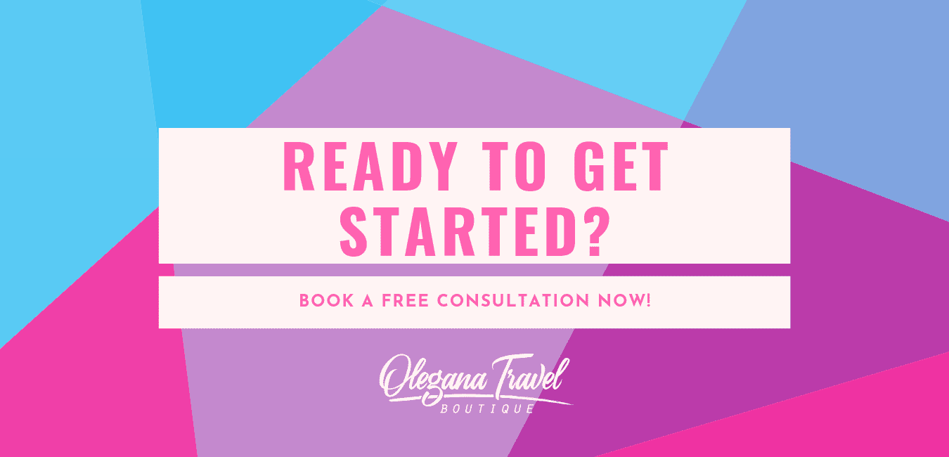 Ready to get started? Book a free consultation today with a five star rated travel agent in Bergen County, Anna Fishman of Olegana Travel Boutique