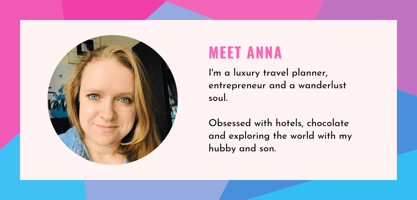 Anna Fishman, Owner and Founder of Olegana Travel Boutique, Luxury Travel Agent and Travel Planner in New Jersey, Bergen County. Specializing in honeymoons and family vacations.