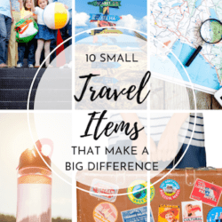 Packing tips – these items aren't necessities, but they create an exponentially more enriching travel experience (and they're easy to fit!). Checklist of small travel items that make a big difference. Packing hacks and tricks!