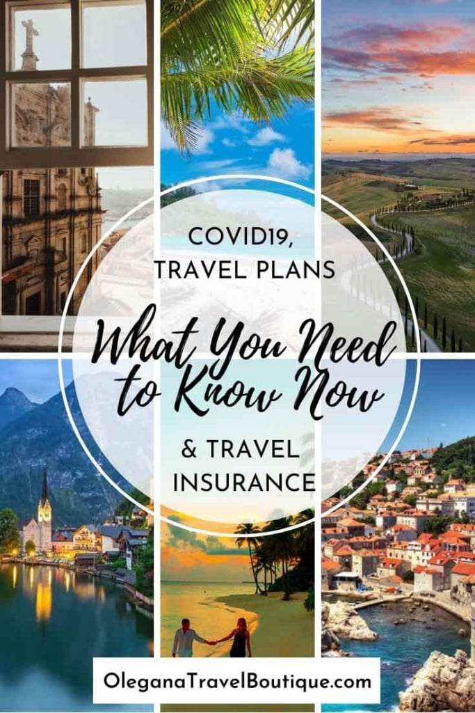 COVID19, CORONAVIRUS, TRAVEL PLANS AND TRAVEL INSURANCE - WHAT YOU NEED TO KNOW NOW